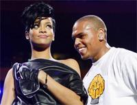 Rihanna Chris Brown Stage 200